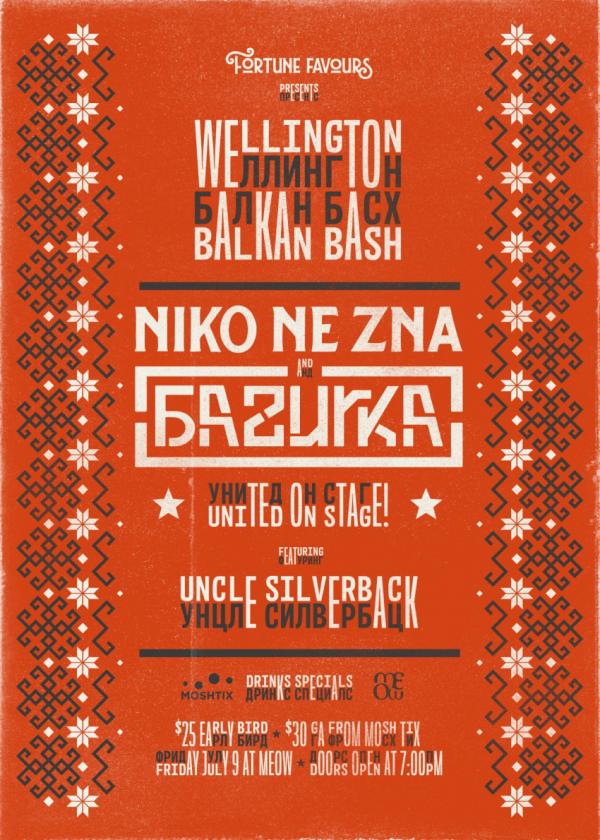 Wellington Balkan Bash!