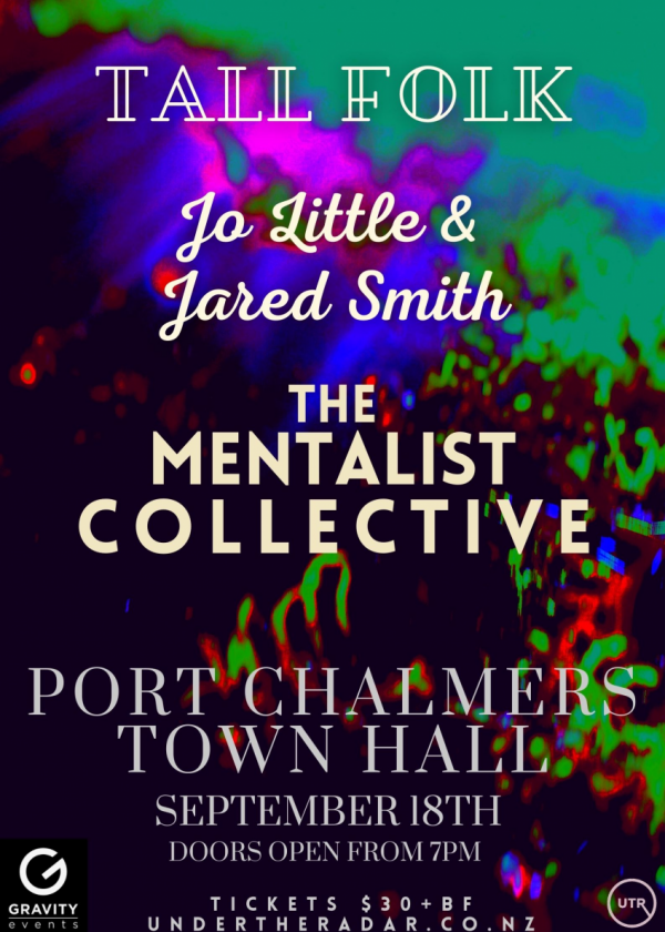 Tall Folk, Jo Little And Jared Smith, The Mentalist Collective - Cancelled