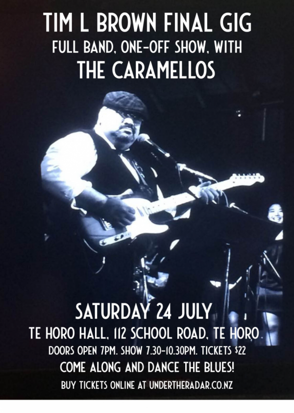The Caramellos - Tim L Brown's final gig