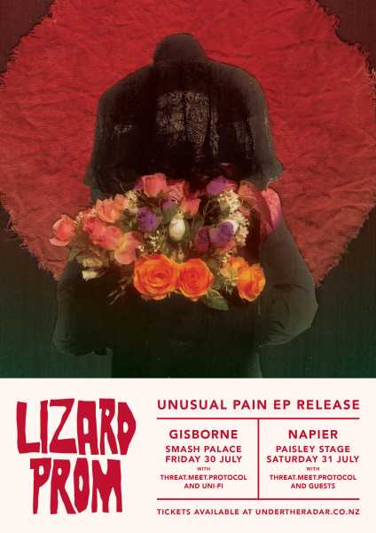 Lizard Prom Unusual Pain EP Release