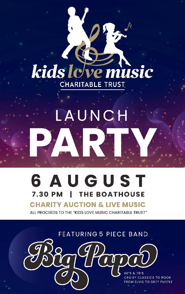 Kids Love Music Charitable Trust Launch Party w/ Big Papas