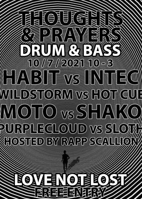 Church Of Bass: Thoughts And Prayers And Drum And Bass