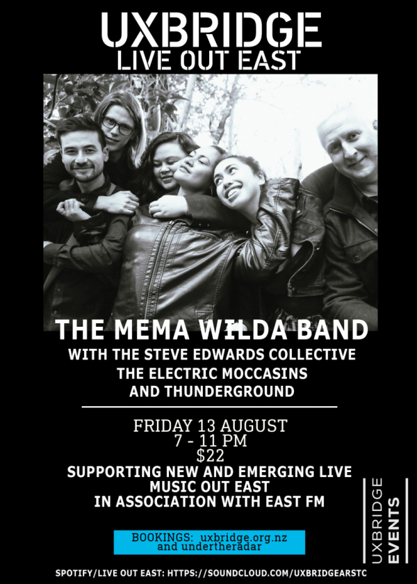 Mema Wilda, Electric Moccasins, Steve Edwards - Live Out East