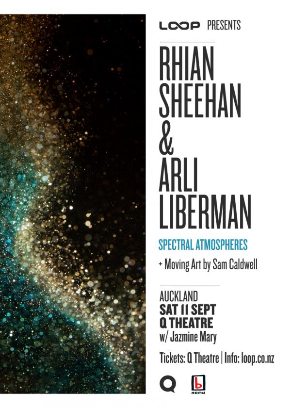 Rhian Sheehan and Arli Liberman - Spectral Atmospheres AKL