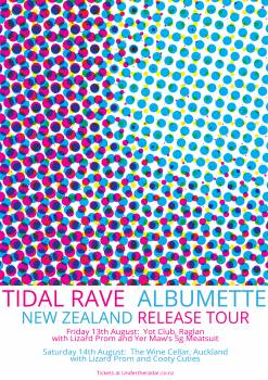 Tidal Rave 'Albumette' Tour w/ Lizard Prom and Yer Maw's 5g Meatsuit