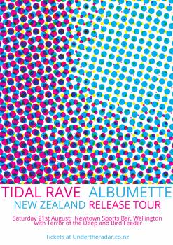 Tidal Rave 'Albumette' Tour with Terror of the Deep and Bird Feeder