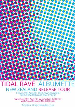 Tidal Rave 'Albumette' Tour w/ Alpha Delta and Blue Cheese