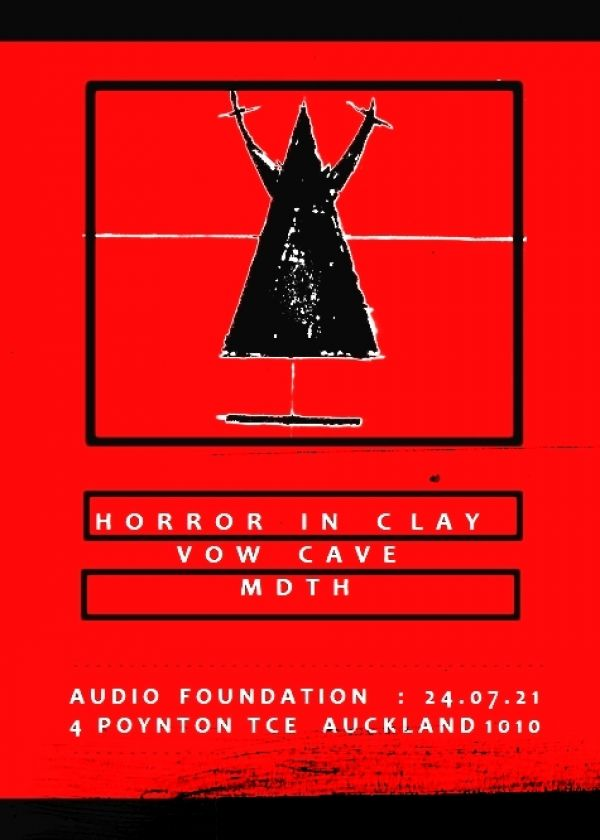 MDTH, Horror In Clay, Vow Cave