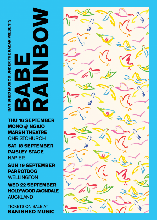 Babe Rainbow - New Zealand Spring Tour CANCELLED