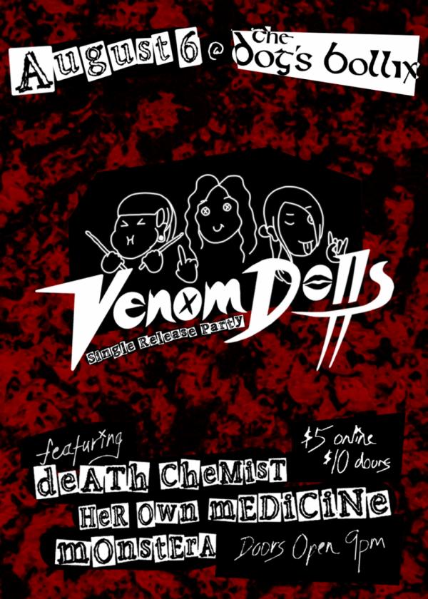 Venomdolls Single Release Party