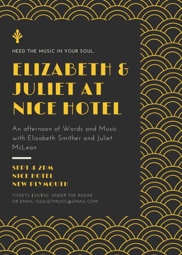 Elizabeth and Juliet at Nice Hotel