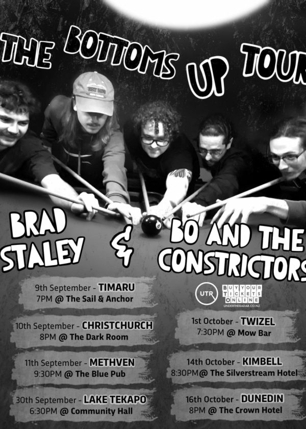 BO And the Constrictors + Brad Staley - The Bottoms Up Tour