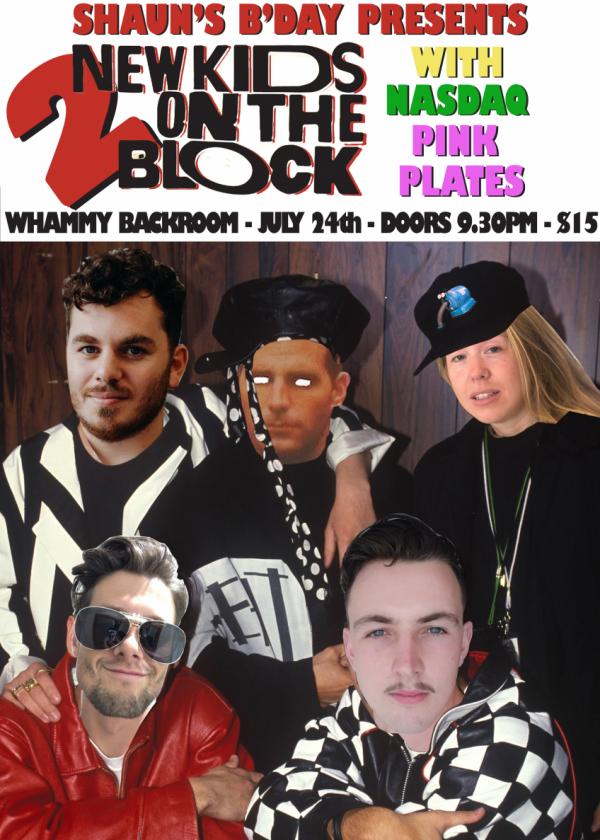 Shaun's B'day Presents New Kids On The Block 2