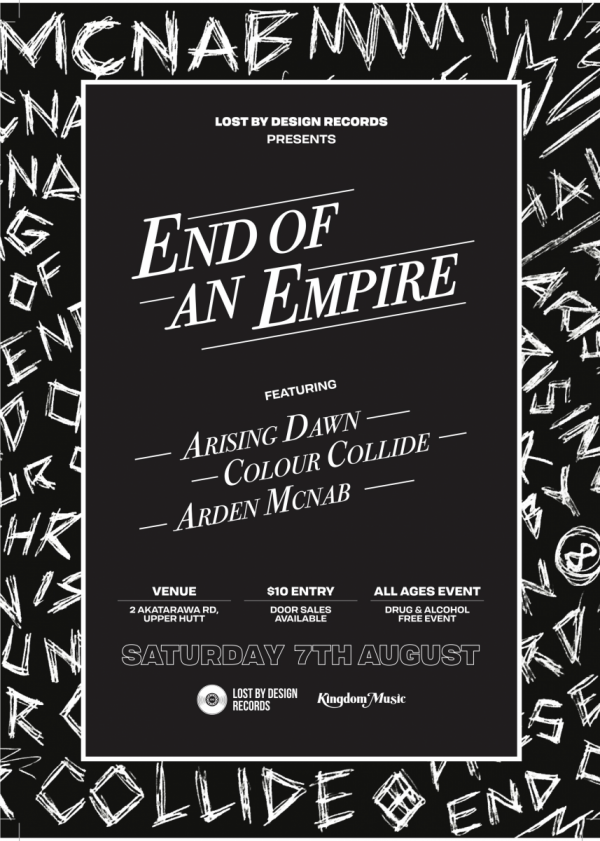 End Of An Empire Live