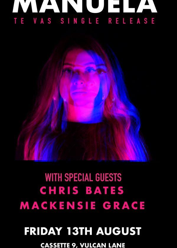 Manuela Single Release - Te Vas w/ Christ Bates And Mackensie Grace