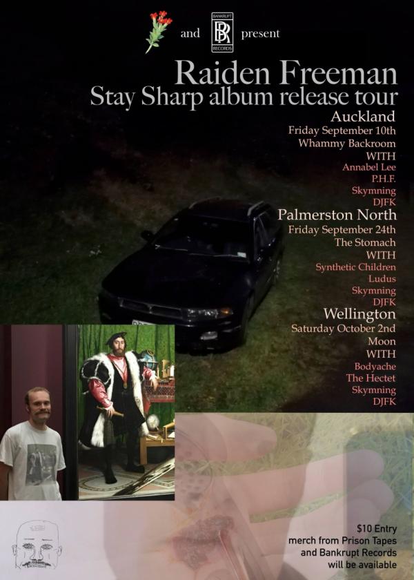 Raiden Freeman: Stay Sharp Album Release Tour