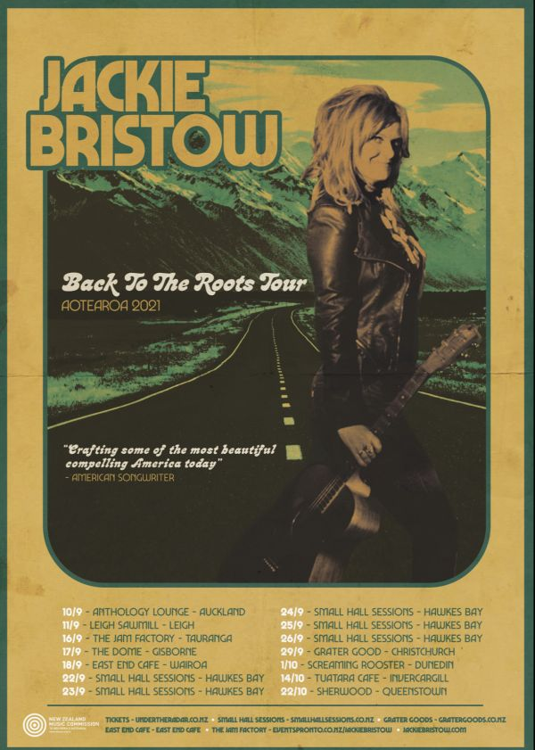 Jackie Bristow - 'Back To The Roots Tour' - Cancelled