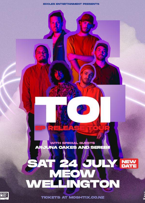 Toi - Ep Release Tour