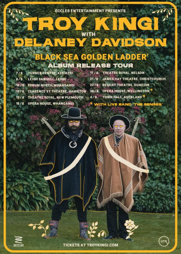 Troy Kingi With Delaney Davidson - Black Sea Golden Ladder Tour