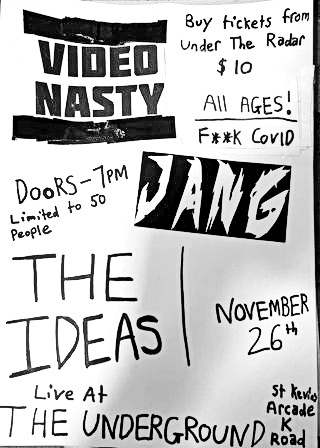 Video Nasty, The Ideas & Jang