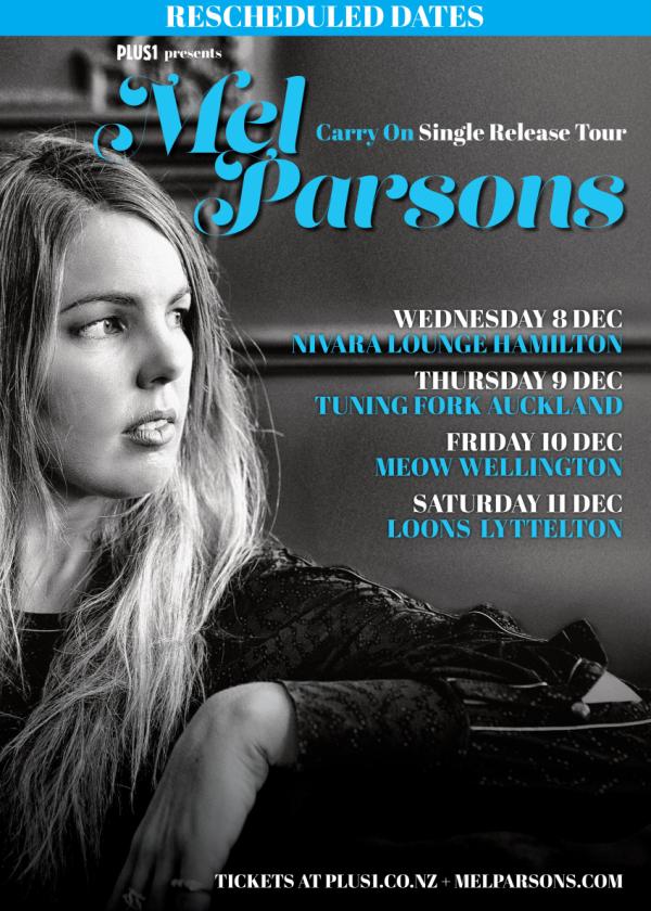 Mel Parsons - Carry On Tour