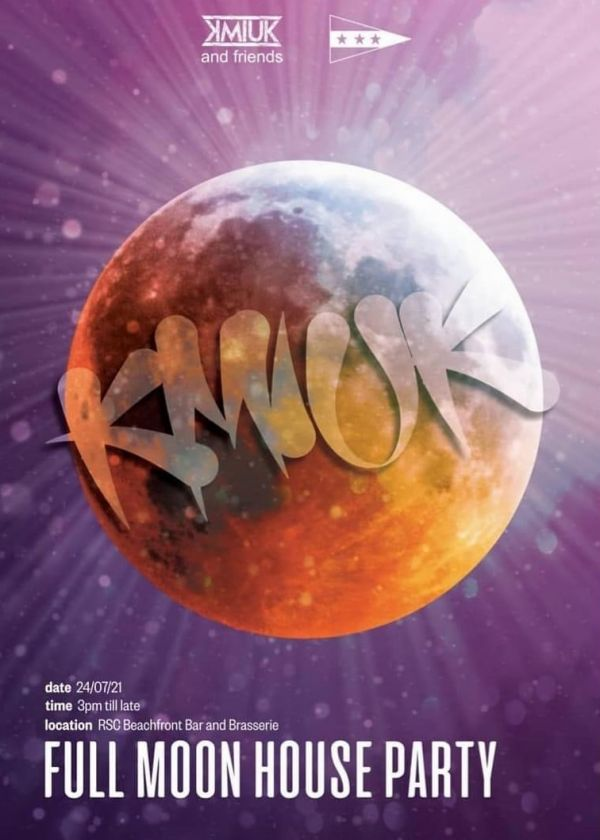 Full Moon House Party feat. KMIUK & COCO HOUSE BROS (Mark Zow & MR.E)