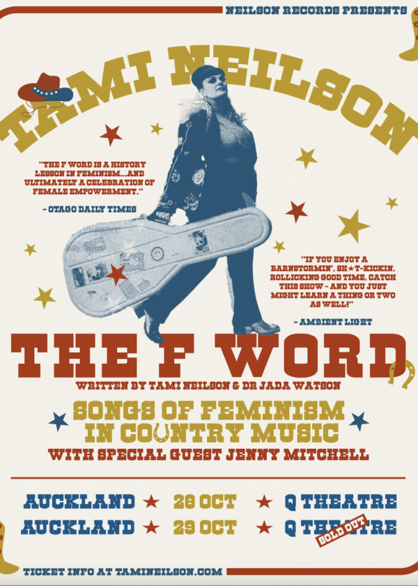 Tami Neilson-The F Word- Songs Of Feminism In Country Music-SOLD OUT!