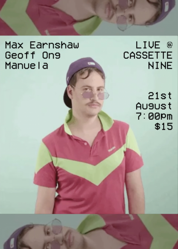 Manuela, Max Earnshaw, and Geoff Ong - Cancelled