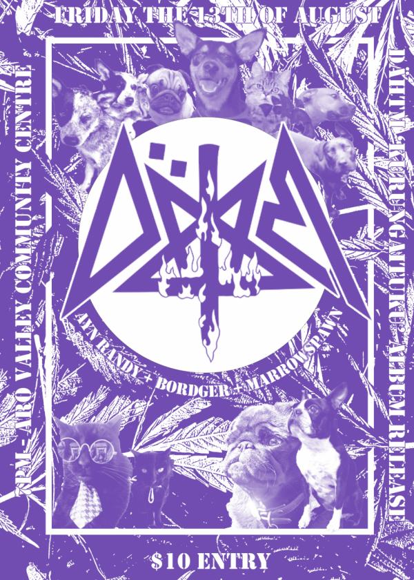 DÄHTM Album Release w/ Ayn Randy Marrowspawn Bordger