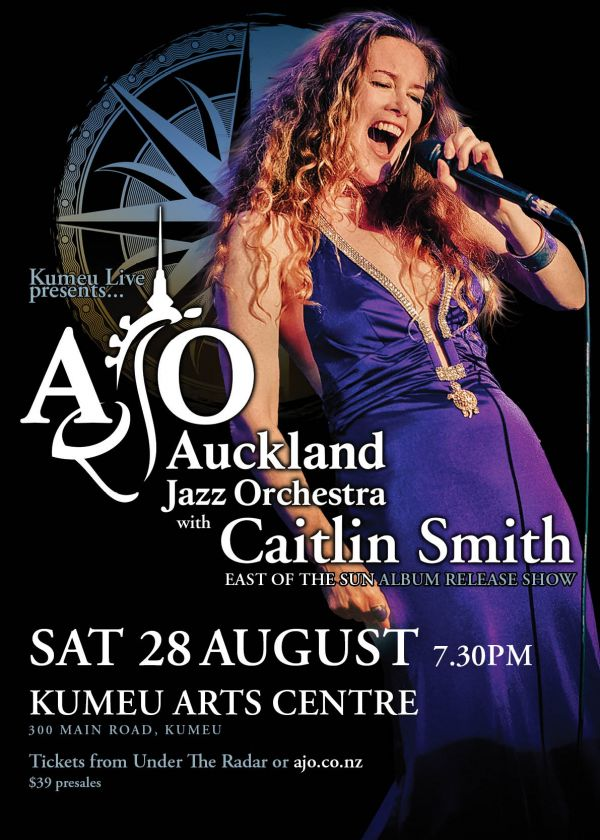 Auckland Jazz Orchestra w/ Caitlin Smith - Cancelled