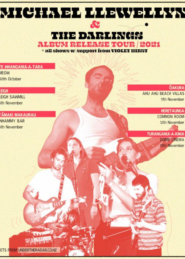Michael Llewellyn - Album Release Tour + Violet Hirst & Mini Simmons