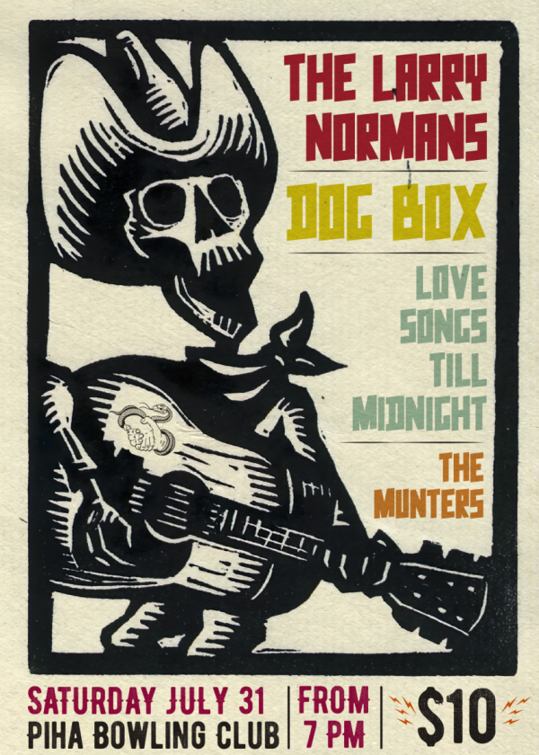The Larry Normans, Dog Box, Love Songs Till Midnight, The Munters