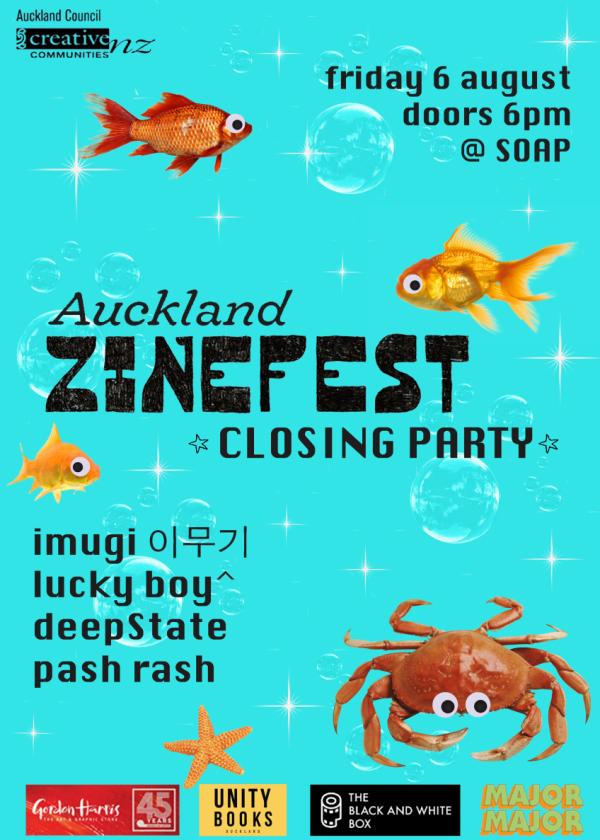 Auckland Zinefest Closing Party