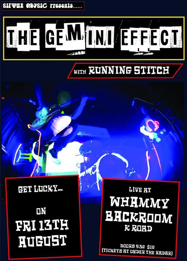 The Gemini Effect w/ Running Stitch