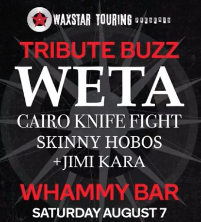 Weta / Cairo Knife Fight Tribute - Skinny Hobos + Jimi Kara