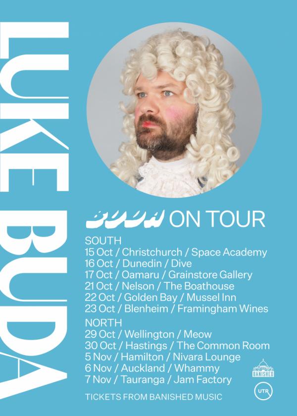 Luke Buda - Buda Album Release Tour POSTPONED
