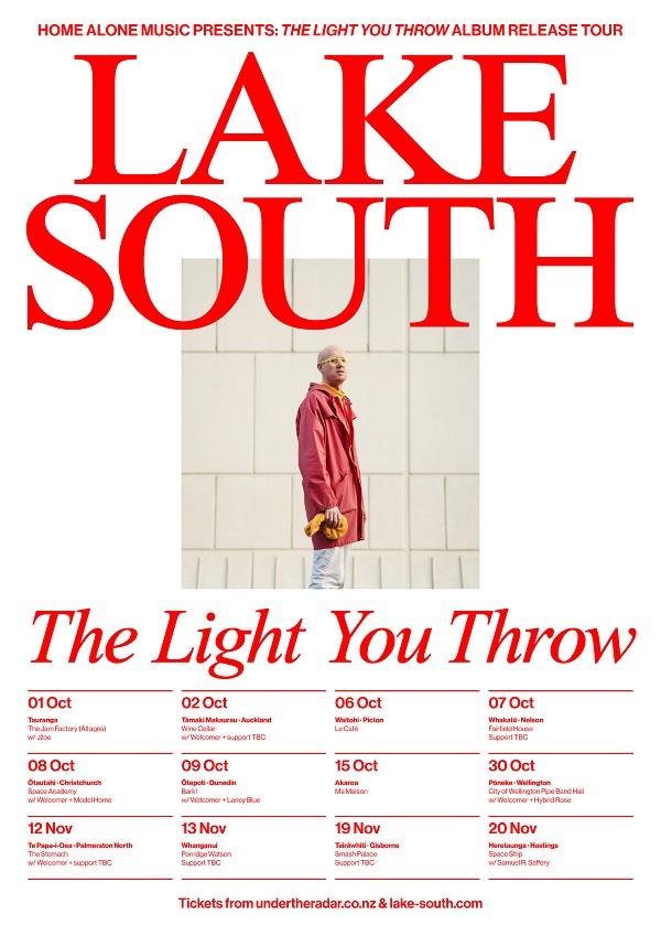 Lake South 'The Light You Throw' Album Release Tour