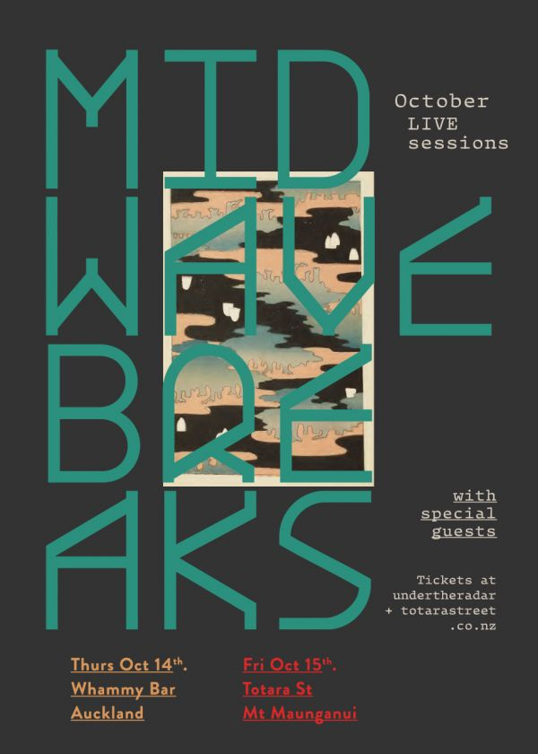 Midwave Breaks October Live Sessions - Cancelled
