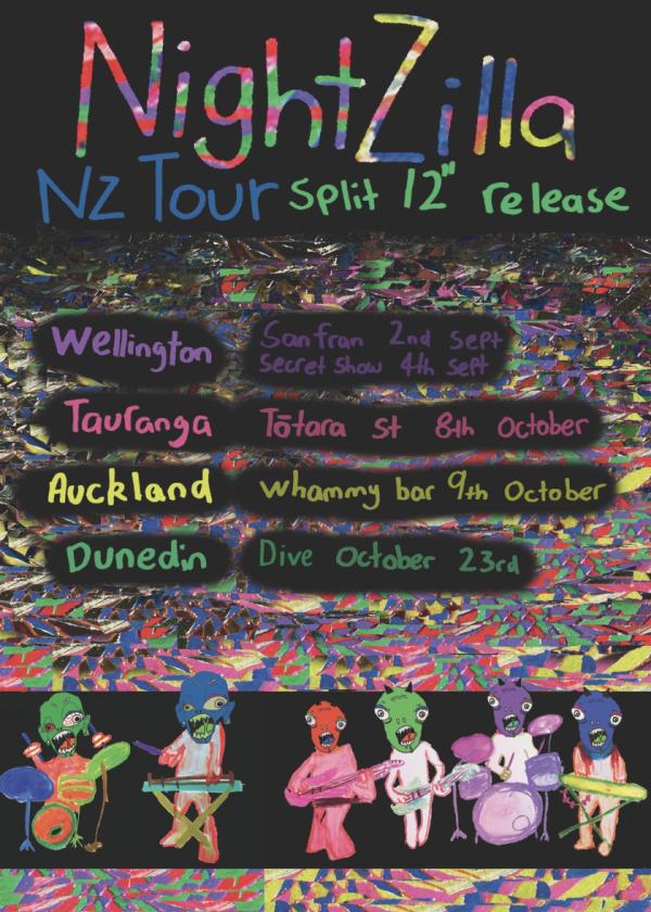 NightZilla Split 12 EP Release
