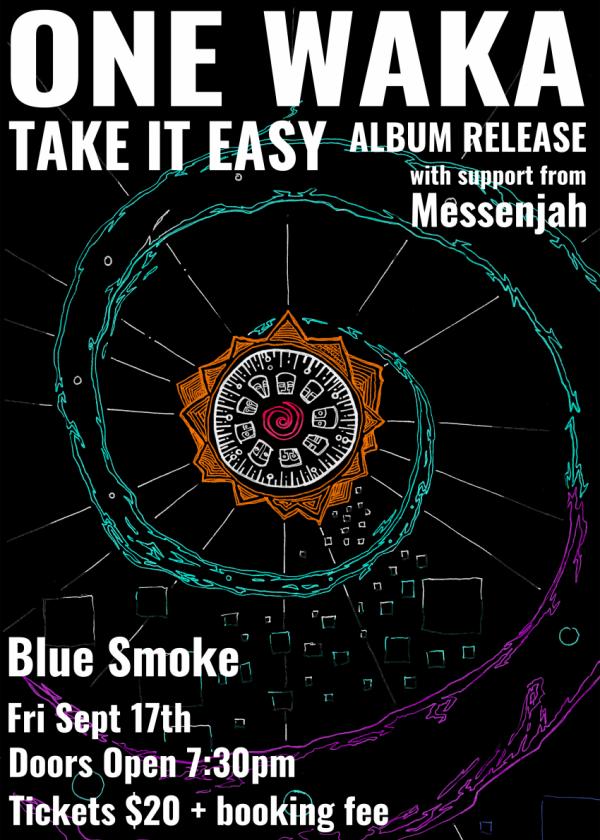 One Waka Take It Easy Album Release Show