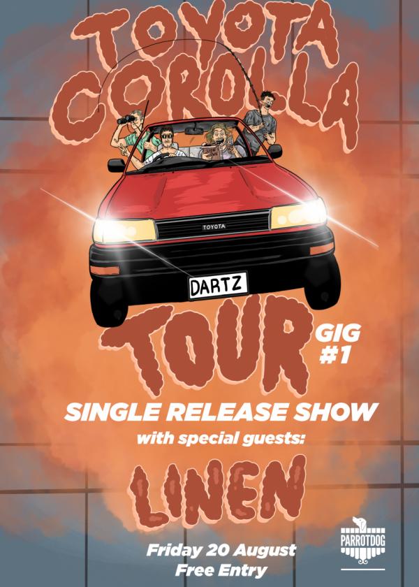 DARTZ - Toyota Corolla Tour [postponed]