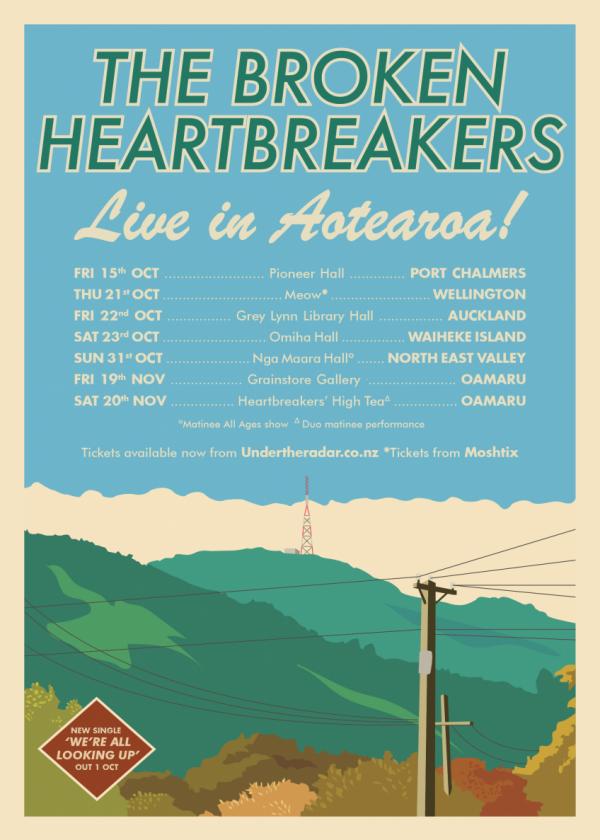The Broken Heartbreakers 'We're All Looking Up' Single Release Tour