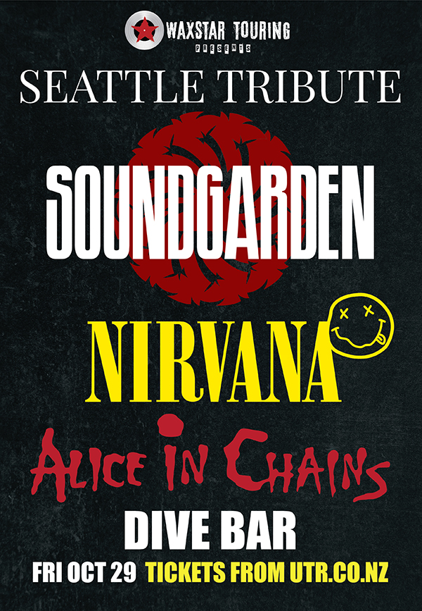 Seattle Tribute - Soundgarden / Nirvana / Alice In Chains