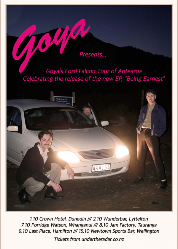 Goya - 'Being Earnest' EP Release Tour