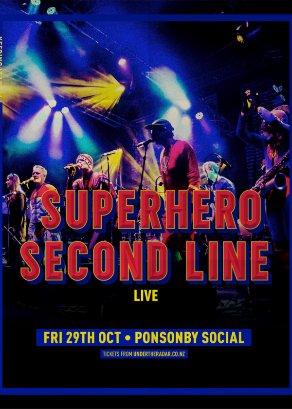 Superhero Second Line Live (Early Show)