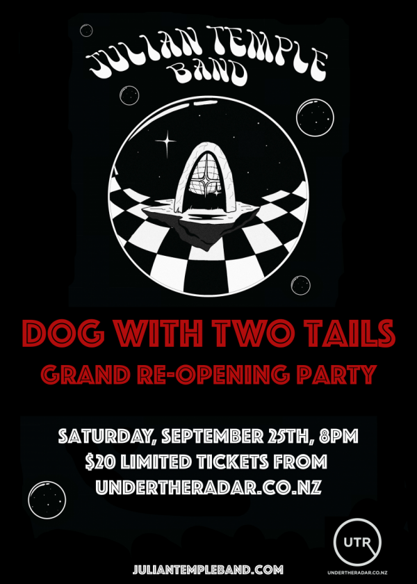 Dog With Two Tails Grand Re-opening w/ Julian Temple Band