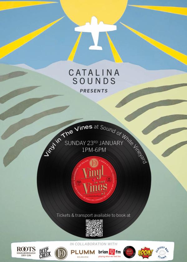 Catalina Sounds Presents Vinyl In The Vines