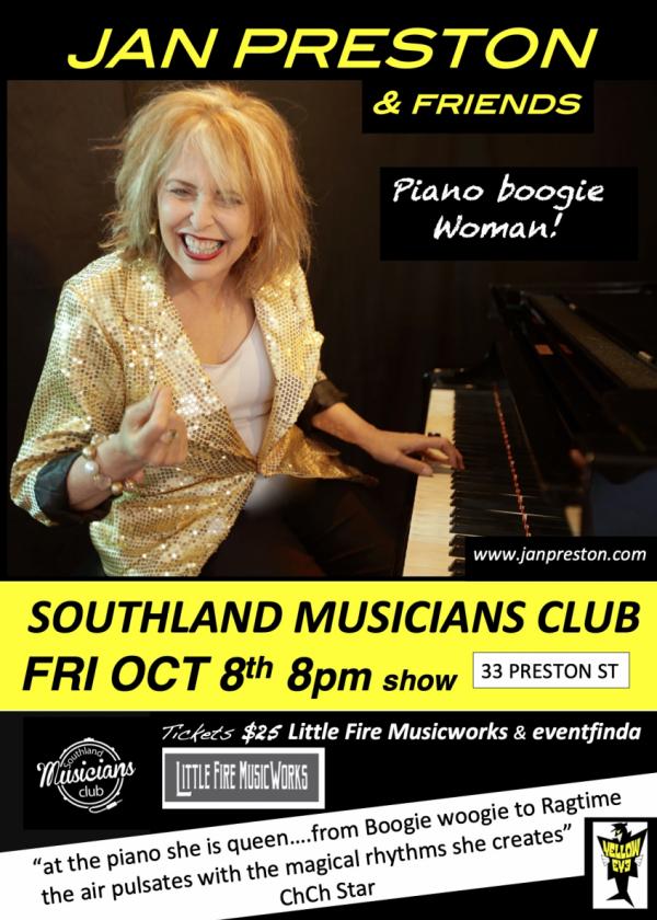 Jan Preston Piano Boogie Woman Duo