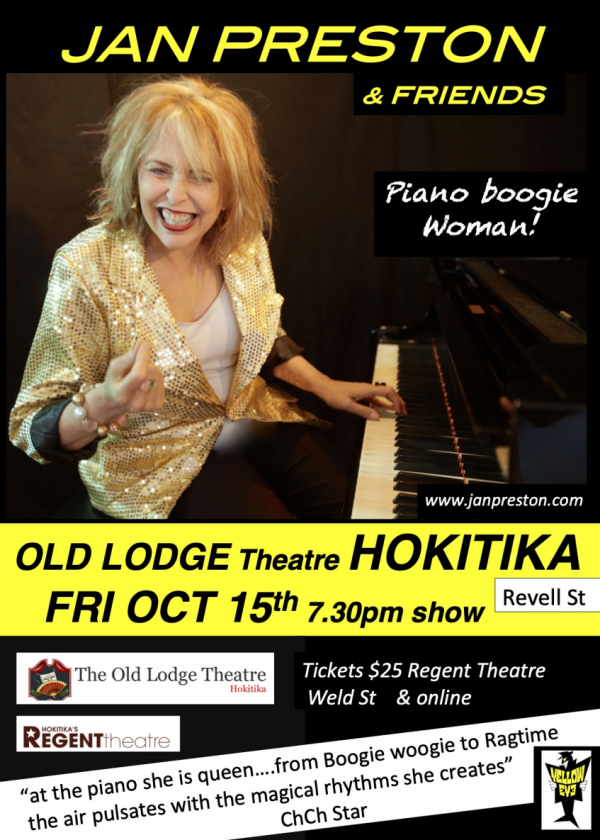 Jan Preston Piano Boogie Woman Trio