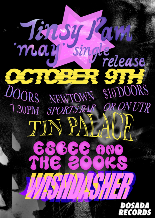 Tinsy Pam 'May' Single Release Show! - Cancelled